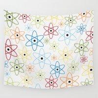 teacher Wall Tapestries featuring School teacher #6 by Juliana RW
