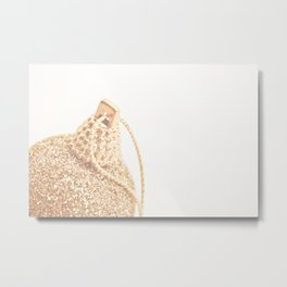 All That Glitters Is Not Gold  Metal Print