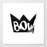bow Canvas Prints featuring Bow by Matt Smiroldo