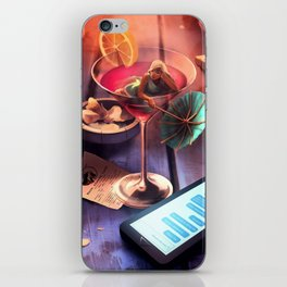 Drink time iPhone Skin