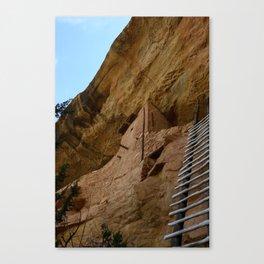 Climb Up the Ladder Canvas Print
