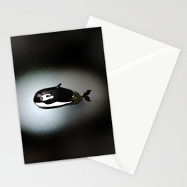 Orca Eggplant Stationery Cards