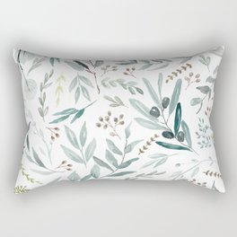 Eucalyptus pattern Rectangular Pillow
