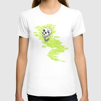 lv T-shirts featuring Lv. 24 Skeletal Wisp by Creeps by Caleb