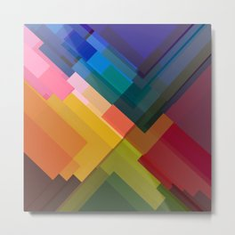 Abstract Composition 675 Metal Print