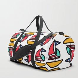 Little Tiny Sailboats Duffle Bag