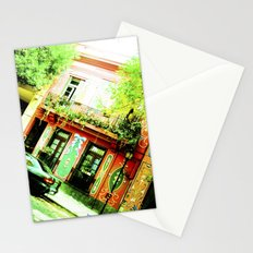 Colorful street and historic. Stationery Cards