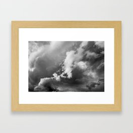 Storm Clouds Photography | Skyscape | Waterton Framed Art Print