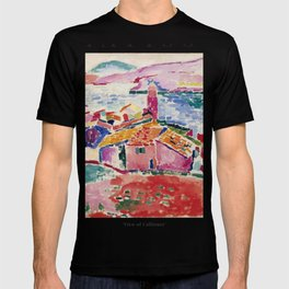 View of Collioure - Henri Matisse - Exhibition Poster T-shirt