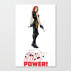 Just Power! Canvas Print