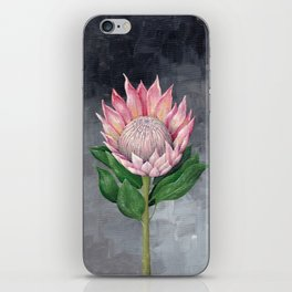 Protea Flower Painting iPhone Skin