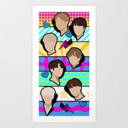 I (Heart) BTS - Bright Art Print