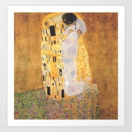 """""""The Ghost Kiss"""" / Gustav Klimt Art Print"""