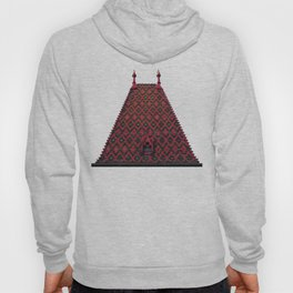 magic roof in Budapest (red) Hoody