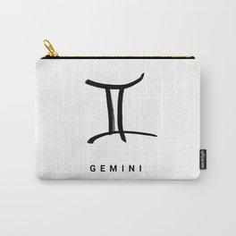 KIROVAIR ASTROLOGICAL SIGNS GEMINI #astrology #kirovair #symbol #minimalism #horoscope #zwilling #ho Carry-All Pouch