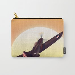 Vintage fighter plane Carry-All Pouch