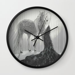 Our Hearts In the Moonlight  Wall Clock