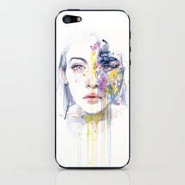 miss bow tie iPhone Skin