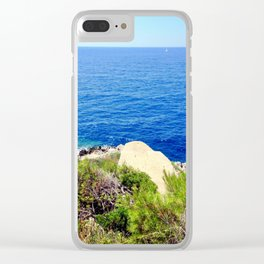 Landing Of Wishes Clear iPhone Case