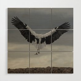 Spread your wings and land Wood Wall Art