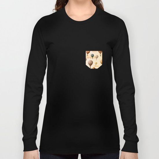 Voyagers Pattern Long Sleeve T-shirt