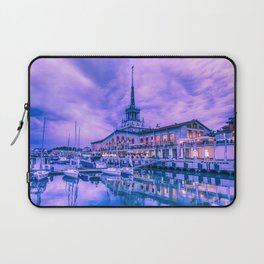 Marine station of Sochi Laptop Sleeve