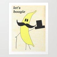 Let's Boogie Art Print