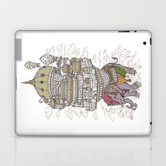 the walking palace Laptop & iPad Skin