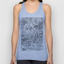 Silver Gray Lady Glitter #1 #shiny #decor #art #society6 Unisex Tank Top