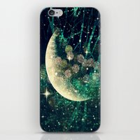 iPhone & iPod Skins featuring Moon Dust by CLE.ArT.