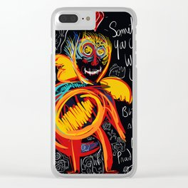 Always be proud of you street art graffiti Clear iPhone Case