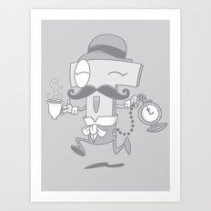 It's T time! Art Print