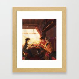 Sunfilled compartment Framed Art Print