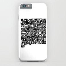 Typographic New Mexico iPhone 6s Slim Case