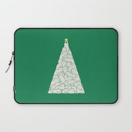 Meowry Christmas Laptop Sleeve