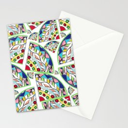 The Stained Glass Stationery Cards