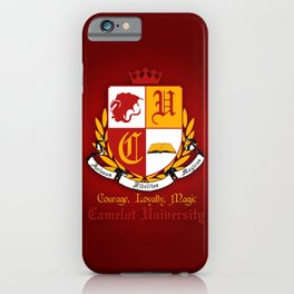 Camelot University. iPhone Case