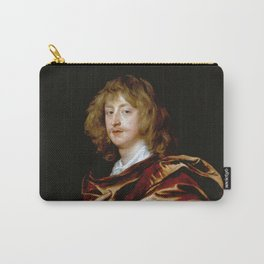 """Sir Anthony van Dyck """"George Digby, 2nd Earl of Bristol"""" Carry-All Pouch"""