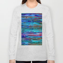 Rippling River Currents Long Sleeve T-shirt