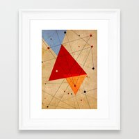 jazzberry Framed Art Prints featuring knot by .eg.