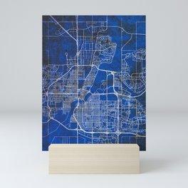 Saskatoon City Street Map Mini Art Print
