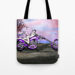 Metal And Sinew: An SWG Pinup Tote Bag