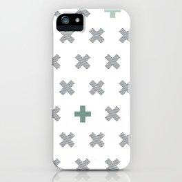 Criss Cross iPhone Case