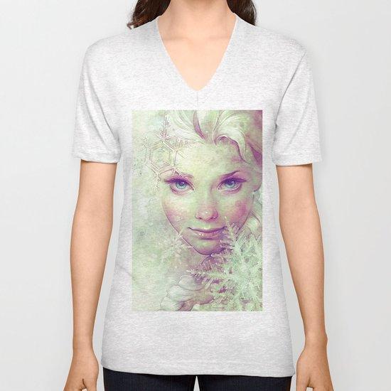 Elsa Unisex V-Neck