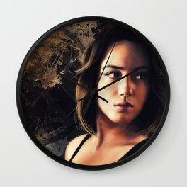 Daisy Johnson. Agent of SHIELD Wall Clock