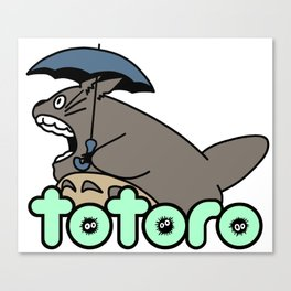 Totoplo Canvas Print