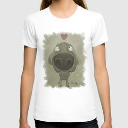 Weimaraner Love - Grey T-shirt