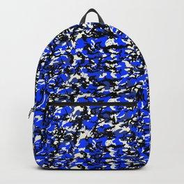 TCR-CAMO PRINT back pack -blue Backpack