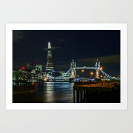 The Shard & Tower Bridge Art Print
