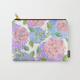 floral pattern vb Carry-All Pouch